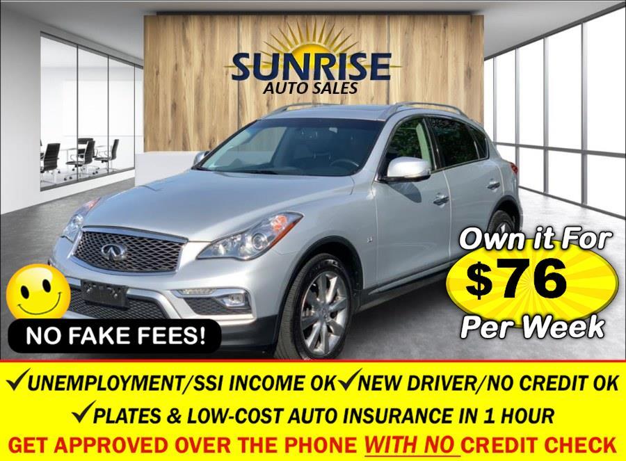Used 2017 INFINITI QX50 in Rosedale, New York | Sunrise Auto Sales. Rosedale, New York