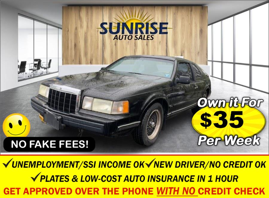 Used Lincoln Mark VII 2dr Coupe LSC 1990 | Sunrise Auto Sales. Rosedale, New York