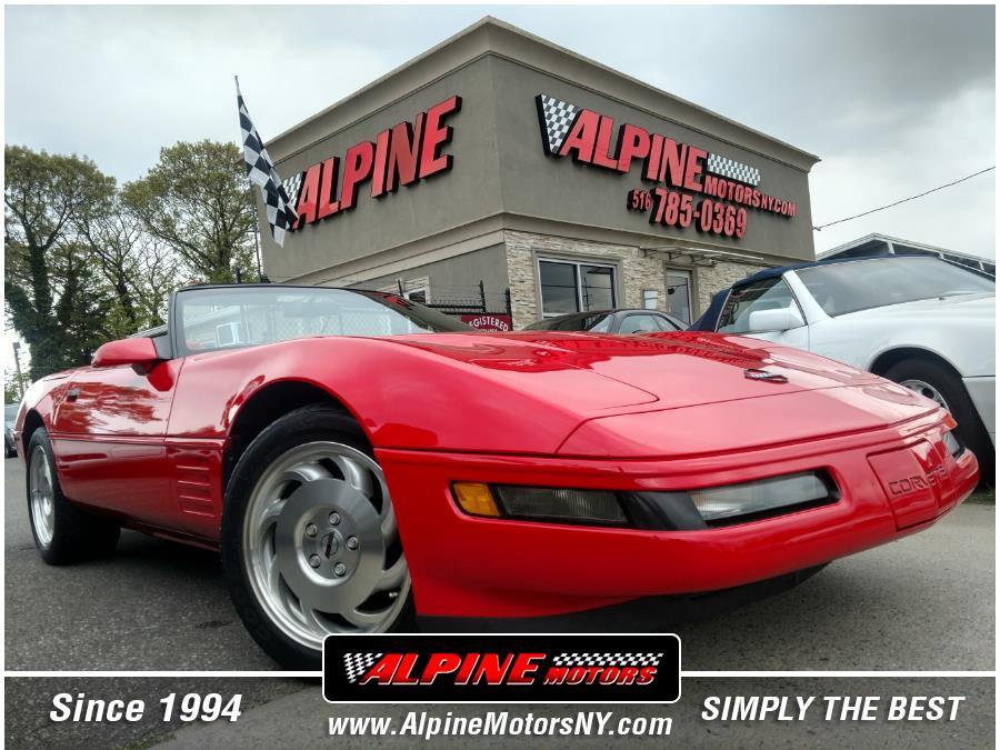 Used Chevrolet Corvette 2dr Convertible 1993   Alpine Motors Inc. Wantagh, New York