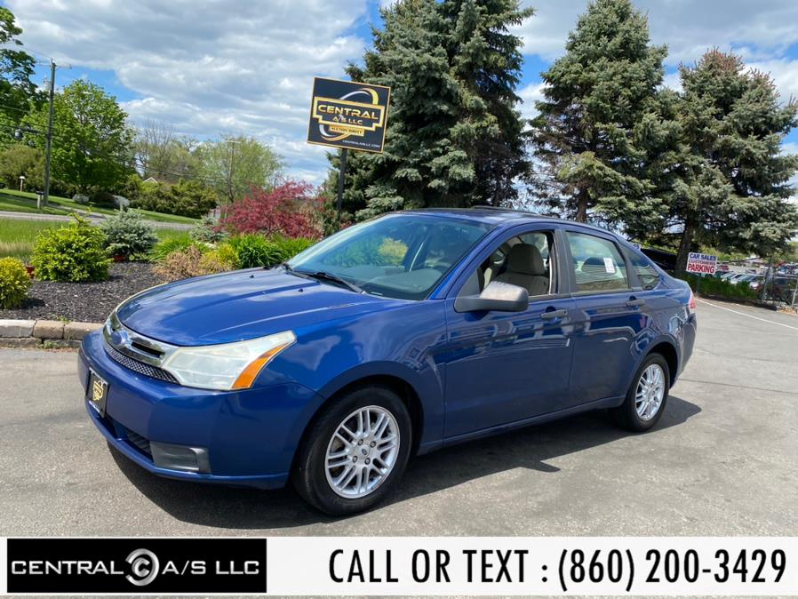 Used Ford Focus 4dr Sdn SE 2009 | Central A/S LLC. East Windsor, Connecticut