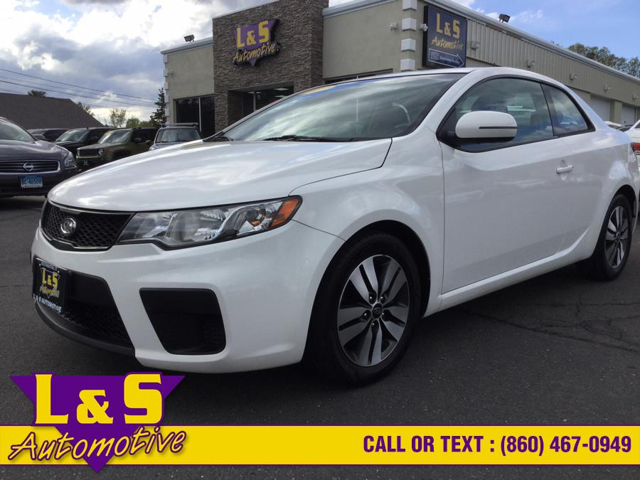 Used Kia Forte Koup 2dr Cpe Auto EX 2013 | L&S Automotive LLC. Plantsville, Connecticut