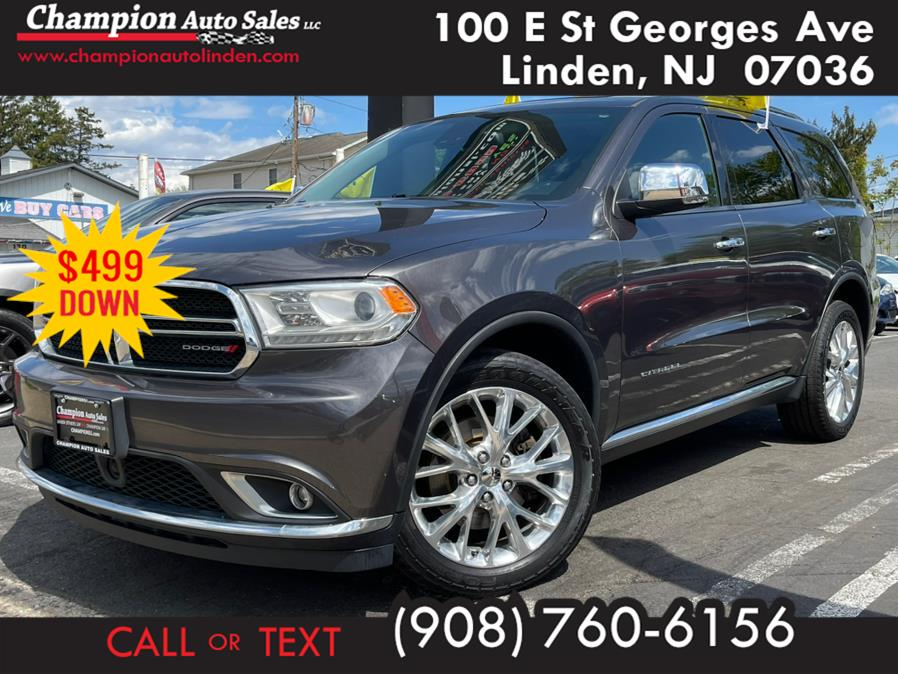 Used 2015 Dodge Durango in Linden, New Jersey | Champion Used Auto Sales. Linden, New Jersey