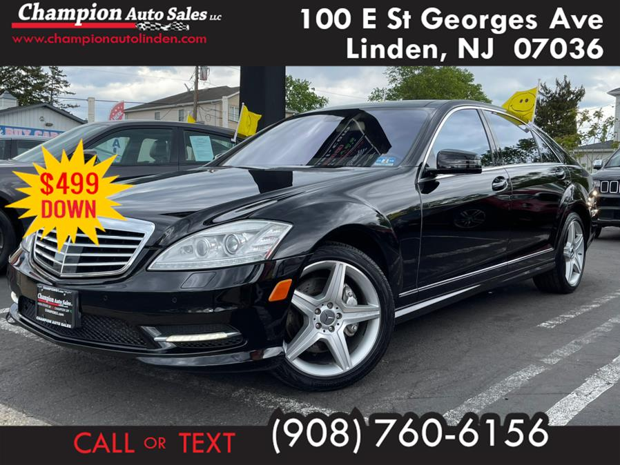 Used 2010 Mercedes-Benz S-Class in Linden, New Jersey | Champion Used Auto Sales. Linden, New Jersey