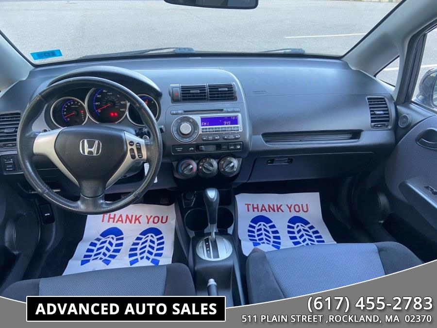 Used Honda Fit 5dr HB Auto Sport 2008 | Advanced Auto Sales. Rockland, Massachusetts