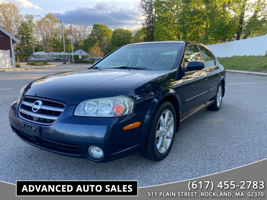 Used 2002 Nissan Maxima in Rockland, Massachusetts | Advanced Auto Sales. Rockland, Massachusetts