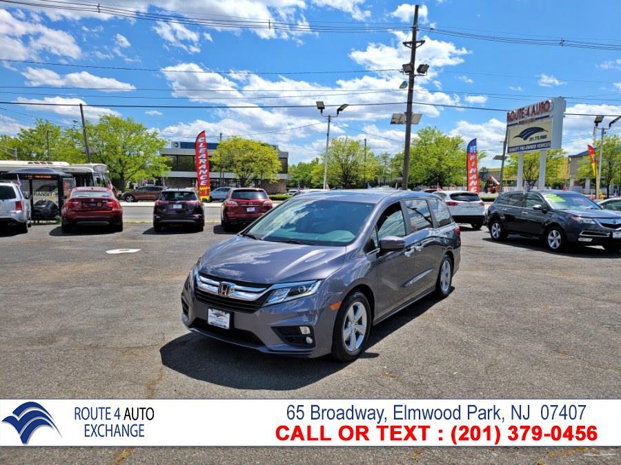Used Honda Odyssey EX-L w/Navi/RES Auto 2018 | Route 4 Auto Exchange. Elmwood Park, New Jersey