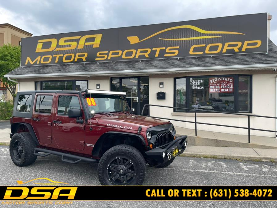 Used 2008 Jeep Wrangler in Commack, New York | DSA Motor Sports Corp. Commack, New York