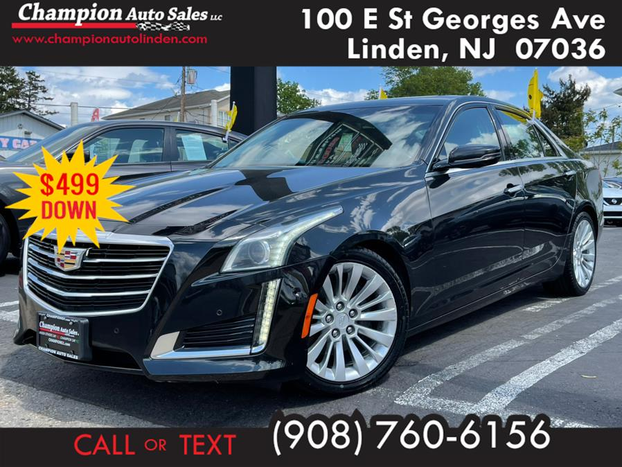 Used 2015 Cadillac CTS Sedan in Linden, New Jersey | Champion Auto Sales. Linden, New Jersey