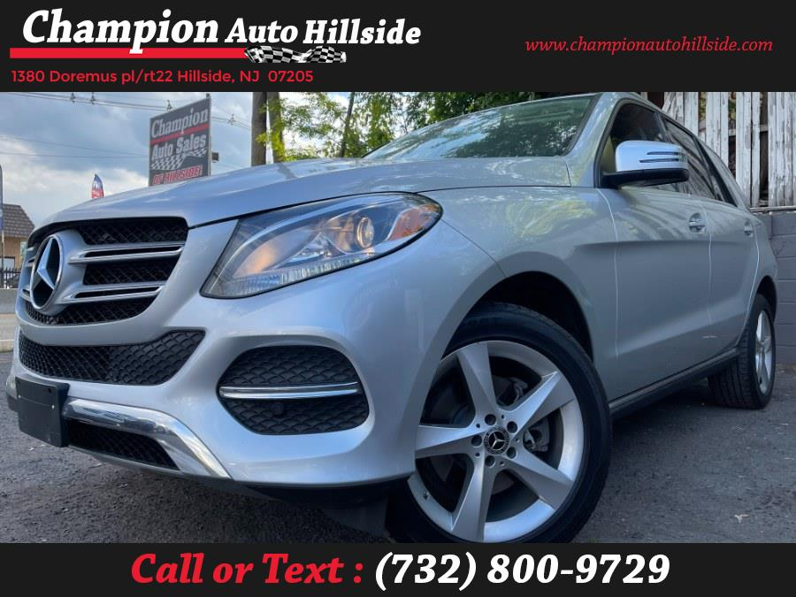 Used 2018 Mercedes-Benz GLE in Hillside, New Jersey | Champion Auto Sales. Hillside, New Jersey
