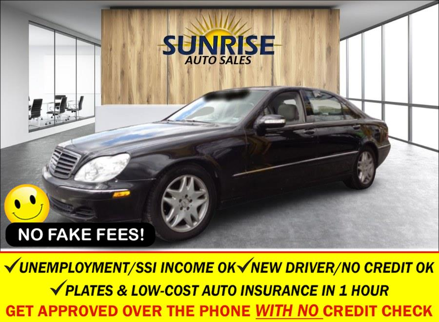 Used Mercedes-Benz S-Class 4dr Sdn 5.0L 2003 | Sunrise Auto Sales of Elmont. Elmont, New York
