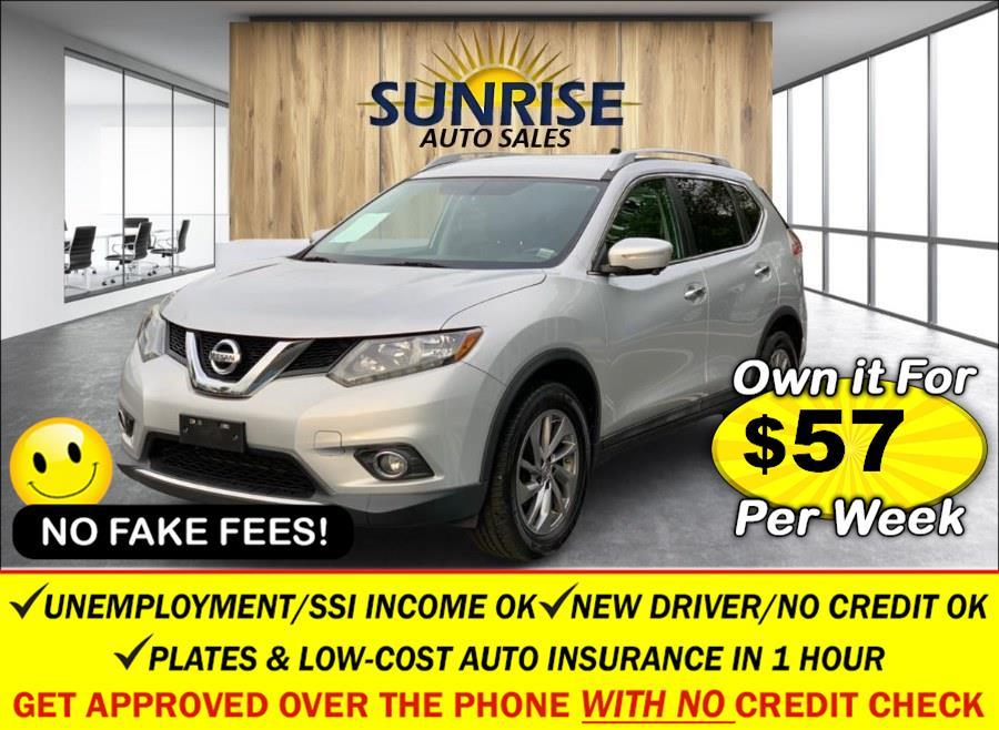 Used Nissan Rogue AWD 4dr SL 2015 | Sunrise Auto Sales of Elmont. Elmont, New York