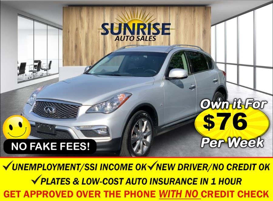 Used INFINITI QX50 AWD 2017   Sunrise Auto Sales of Elmont. Elmont, New York