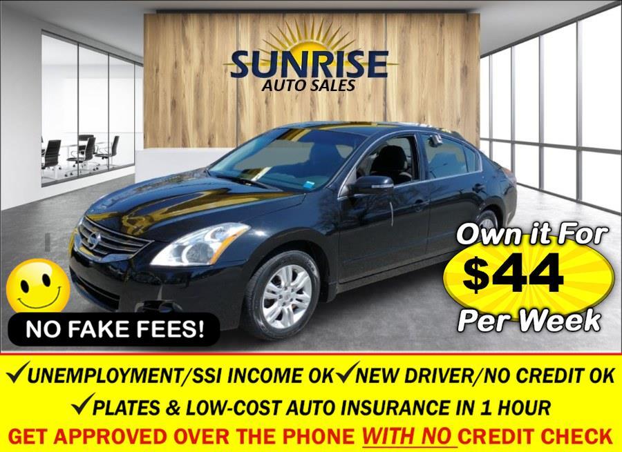 Used Nissan Altima 4dr Sdn I4 CVT 2.5 S 2012 | Sunrise Auto Sales of Elmont. Elmont, New York