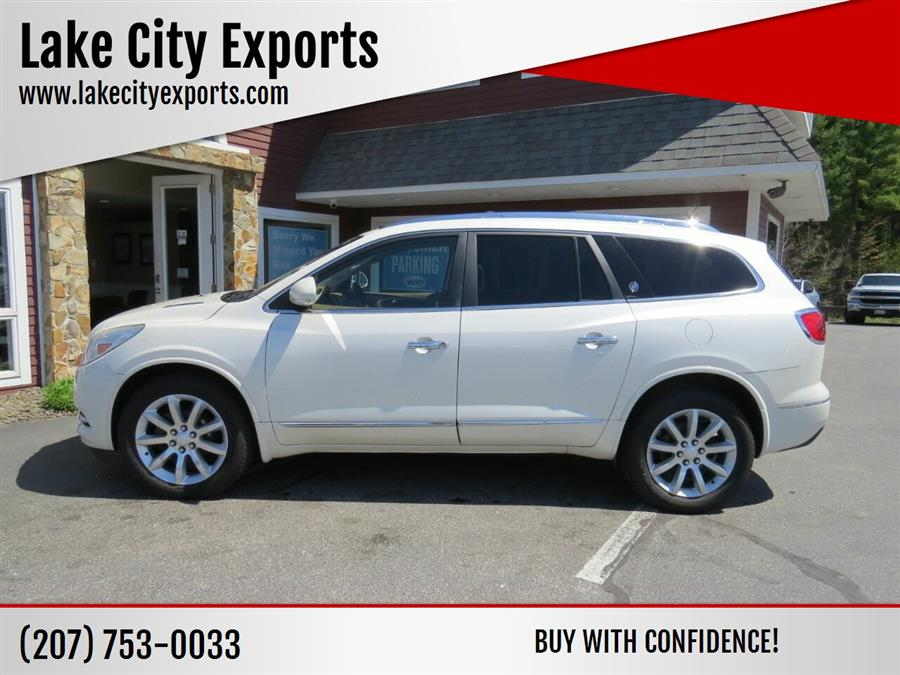 Used Buick Enclave Premium AWD 4dr Crossover 2013 | Lake City Exports Inc. Auburn, Maine
