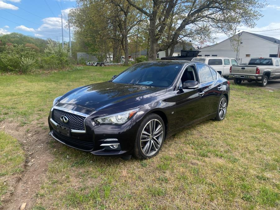 Used 2014 Infiniti Q50 in Wallingford, Connecticut | Vertucci Automotive Inc. Wallingford, Connecticut
