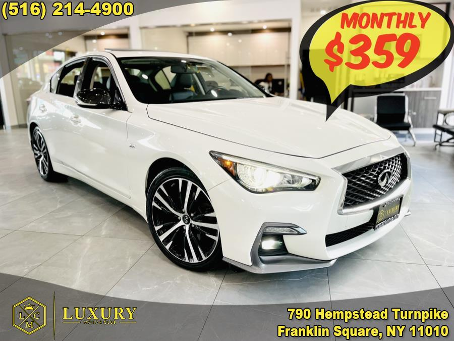 Used 2018 INFINITI Q50 in Franklin Square, New York | Luxury Motor Club. Franklin Square, New York