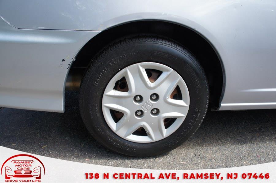 Used Honda Civic 2dr Cpe VP Auto 2004   Ramsey Motor Cars Inc. Ramsey, New Jersey