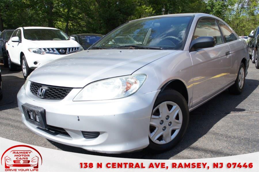 Used 2004 Honda Civic in Ramsey, New Jersey | Ramsey Motor Cars Inc. Ramsey, New Jersey