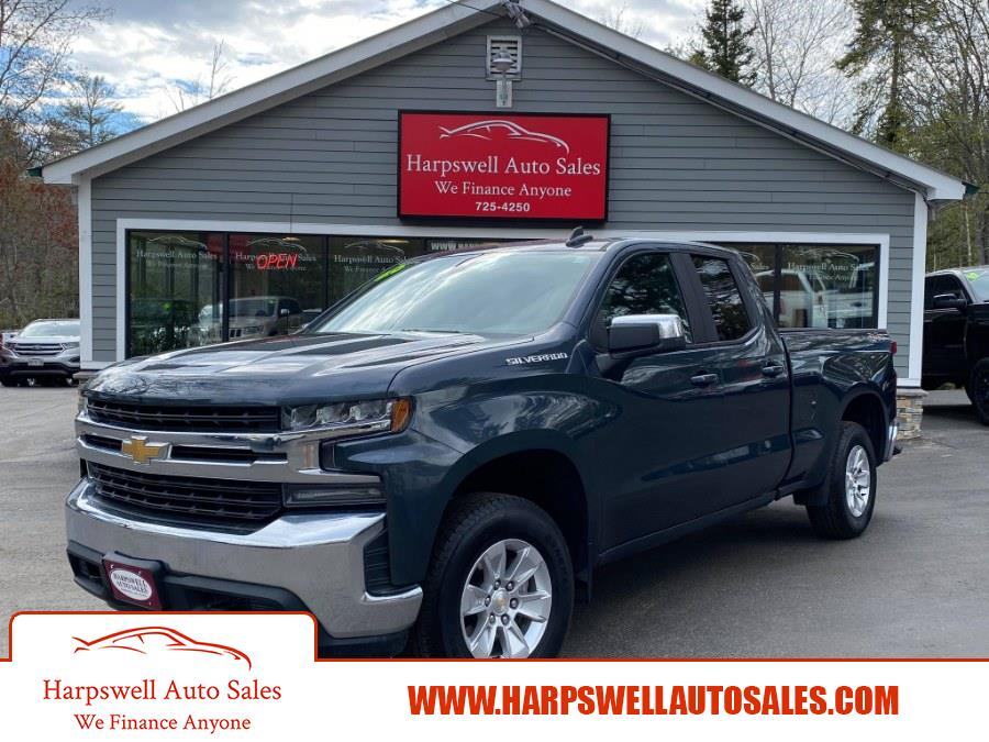 """Used Chevrolet Silverado 1500 4WD Double Cab 147"""" LT 2020 