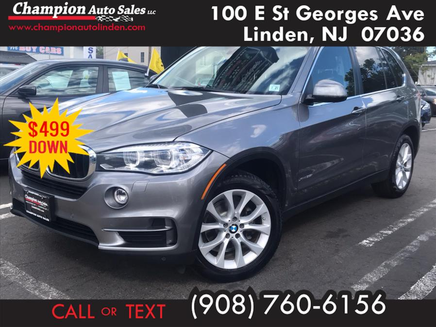Used 2016 BMW X5 in Linden, New Jersey | Champion Used Auto Sales. Linden, New Jersey