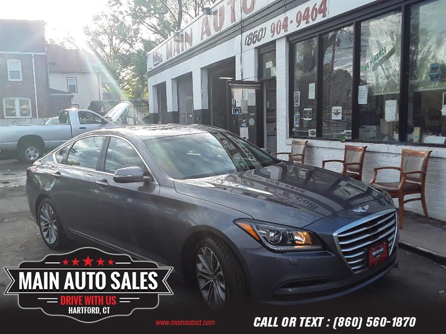 Used Hyundai Genesis 4dr Sdn V6 3.8L AWD 2015 | Main Auto Sales LLC. Hartford, Connecticut