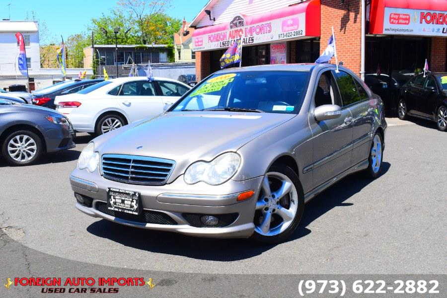 Used Mercedes-Benz C-Class 4dr Sport Sdn 2.5L 2006 | Foreign Auto Imports. Irvington, New Jersey