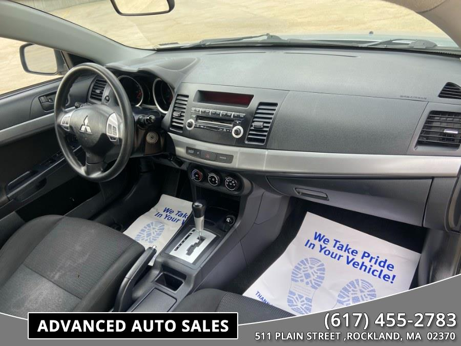Used Mitsubishi Lancer 4dr Sdn CVT ES 2010   Advanced Auto Sales. Rockland, Massachusetts