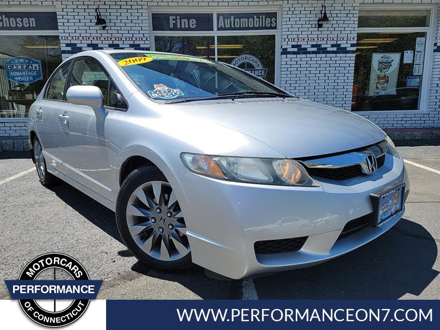 Used 2009 Honda Civic Sdn in Wilton, Connecticut | Performance Motor Cars. Wilton, Connecticut