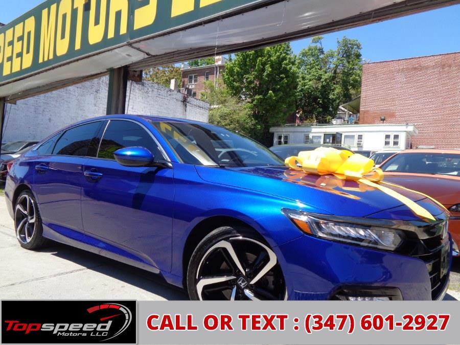 Used Honda Accord Sedan Sport 2019 | Top Speed Motors LLC. Jamaica, New York