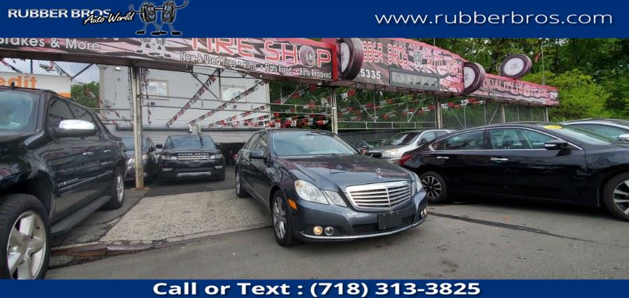 Used 2010 Mercedes-Benz E-Class in Brooklyn, New York | Rubber Bros Auto World. Brooklyn, New York
