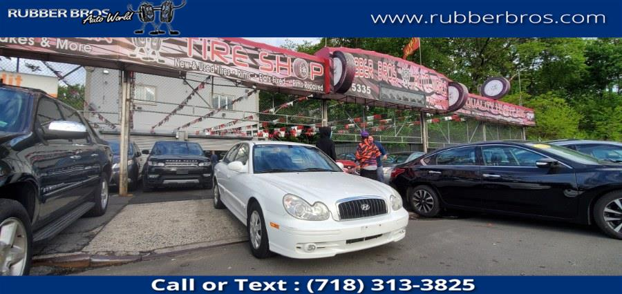 Used 2003 Hyundai Sonata in Brooklyn, New York | Rubber Bros Auto World. Brooklyn, New York