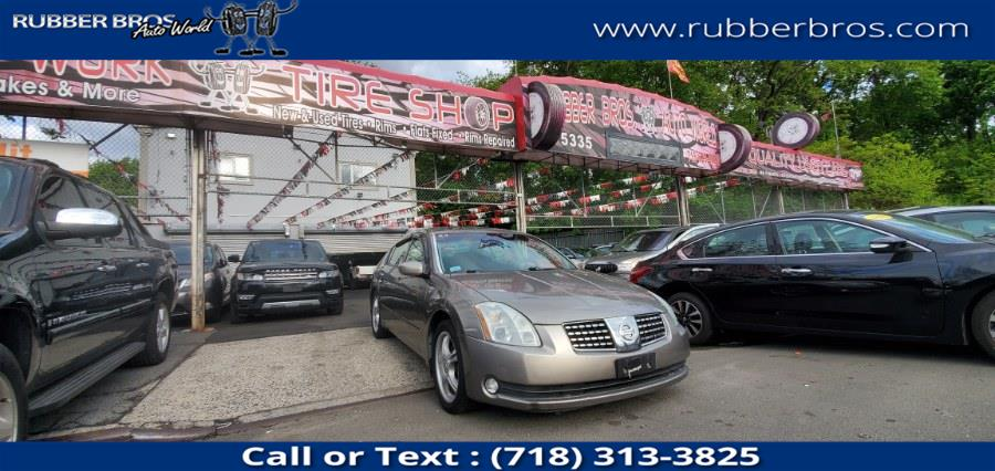 Used 2006 Nissan Maxima in Brooklyn, New York | Rubber Bros Auto World. Brooklyn, New York