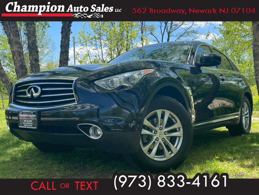 Used 2016 INFINITI QX70 in Newark, New Jersey | Champion Auto Sales. Newark, New Jersey