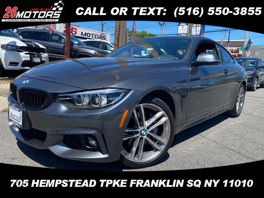 Used BMW 4 Series ///M Sport Package 430i xDrive Coupe 2018 | Hempstead Auto Outlet Inc. DBA 26 Motors Long Isla. Franklin Sq, New York