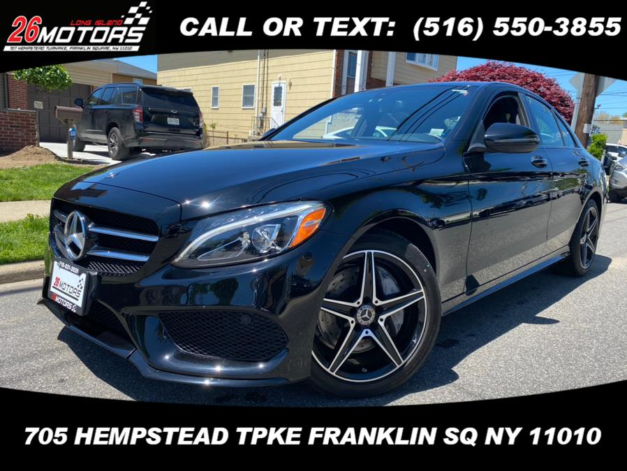 Used Mercedes-Benz C-Class ///AMG Package C 300 4MATIC Sedan 2018 | Hempstead Auto Outlet Inc. DBA 26 Motors Long Isla. Franklin Sq, New York