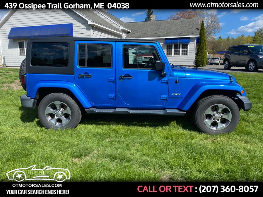 Used 2016 Jeep Wrangler Unlimited in Gorham, Maine | Ossipee Trail Motor Sales. Gorham, Maine