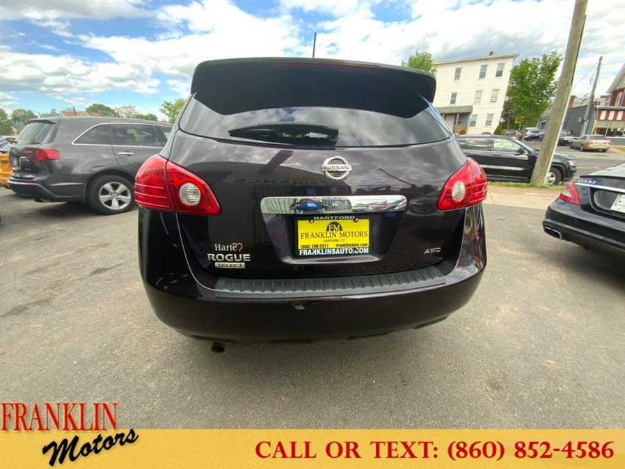 Used Nissan Rogue Select AWD 4dr S 2015   Franklin Motors Auto Sales LLC. Hartford, Connecticut