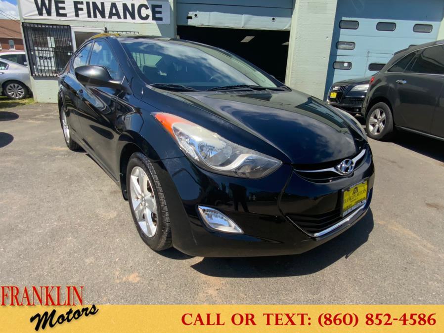Used 2013 Hyundai Elantra in Hartford, Connecticut | Franklin Motors Auto Sales LLC. Hartford, Connecticut