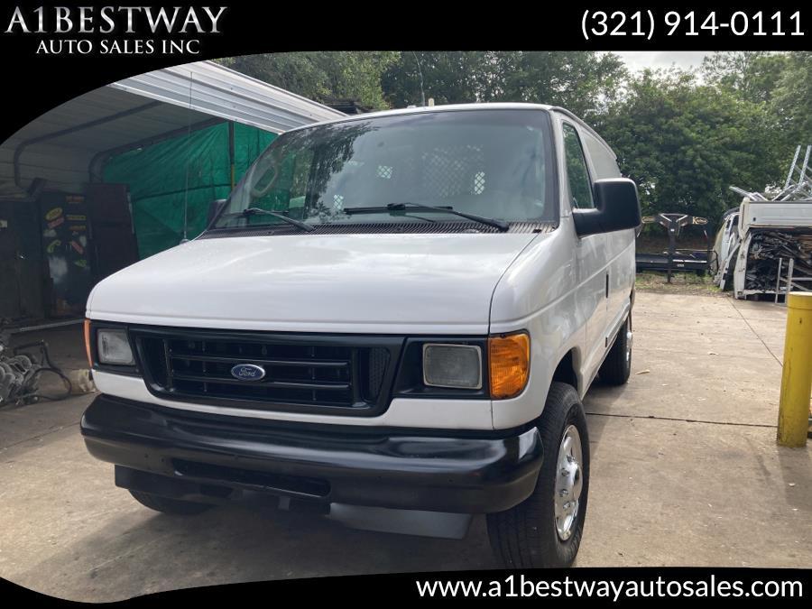 Used 2006 Ford Econoline Cargo Van in Melbourne , Florida | A1 Bestway Auto Sales Inc.. Melbourne , Florida