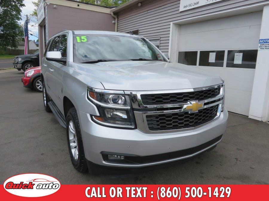 Used 2015 Chevrolet Tahoe in Bristol, Connecticut | Quick Auto LLC. Bristol, Connecticut