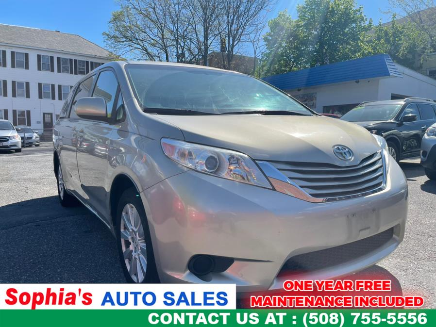 Used 2017 Toyota Sienna in Worcester, Massachusetts | Sophia's Auto Sales Inc. Worcester, Massachusetts