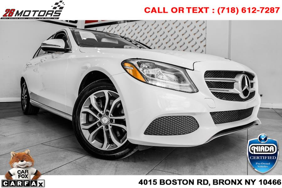 Used Mercedes-Benz C-Class C 300 4MATIC Sedan with Luxury Pkg 2017 | 52Motors Corp. Woodside, New York