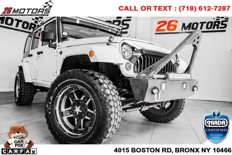 Used 2017 Jeep Wrangler Unlimited in Woodside, New York | 52Motors Corp. Woodside, New York