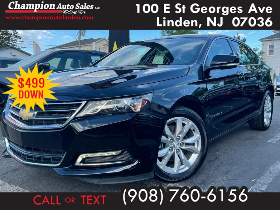 Used 2019 Chevrolet Impala in Linden, New Jersey | Champion Auto Sales. Linden, New Jersey