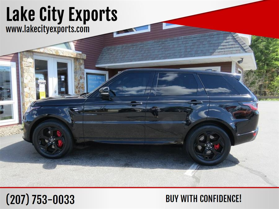 Used Land Rover Range Rover Sport HSE AWD 4dr SUV 2019   Lake City Exports Inc. Auburn, Maine