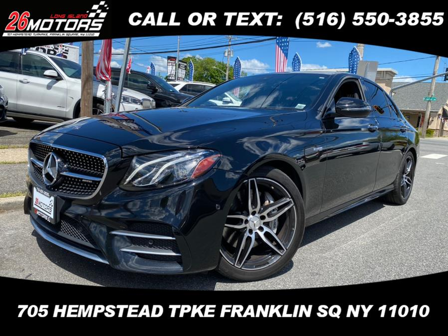 Used Mercedes-Benz E-Class ///AMG AMG E 43 4MATIC Sedan 2018   Hempstead Auto Outlet Inc. DBA 26 Motors Long Isla. Franklin Sq, New York