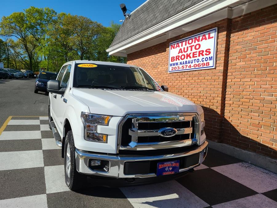 Used Ford F-150 4WD SuperCrew  XLT 2016 | National Auto Brokers, Inc.. Waterbury, Connecticut