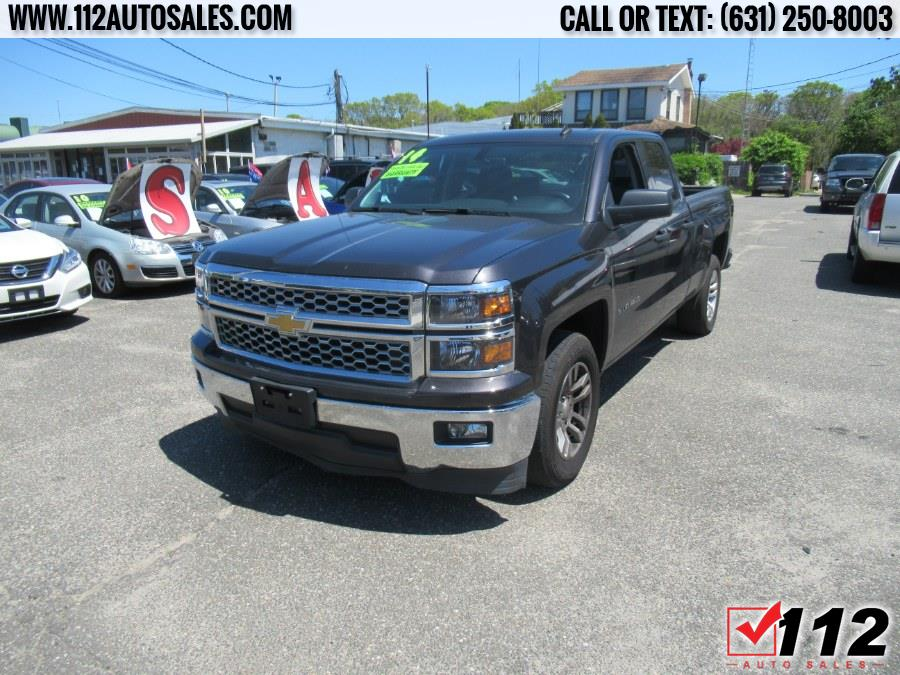 """Used Chevrolet Silverado 1500 2WD Double Cab 143.5"""" LT w/1LT 2014   112 Auto Sales. Patchogue, New York"""