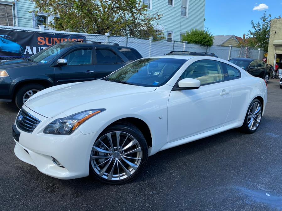 Used 2015 INFINITI Q60 Coupe in Jamaica, New York | Sunrise Autoland. Jamaica, New York