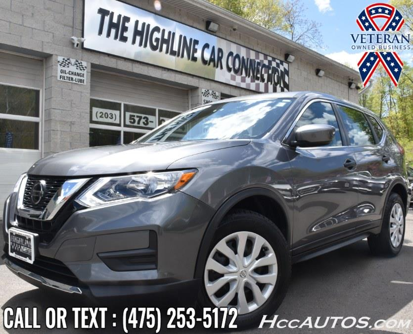 Used Nissan Rogue AWD SV 2018 | Highline Car Connection. Waterbury, Connecticut